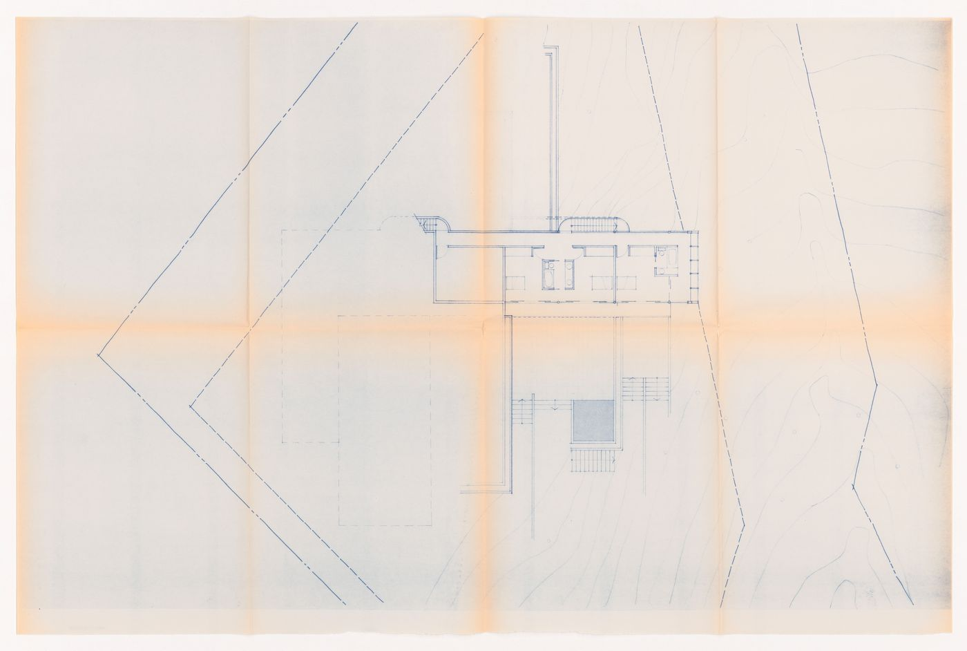 Plan for Hugo Eppich House, Vancouver, British Columbia
