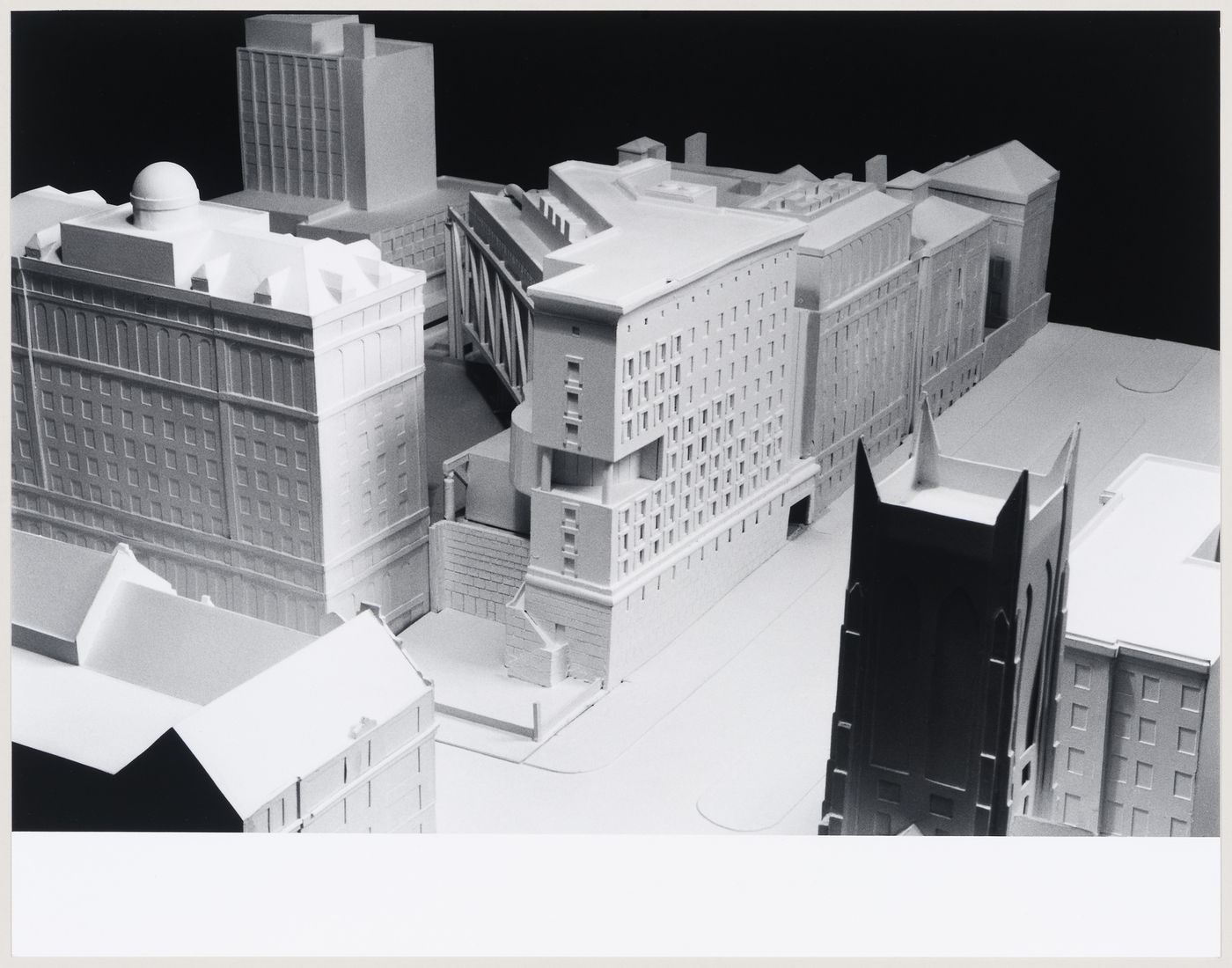 Chandler North Building, Department of Chemistry, Columbia University, New York, New York: model view