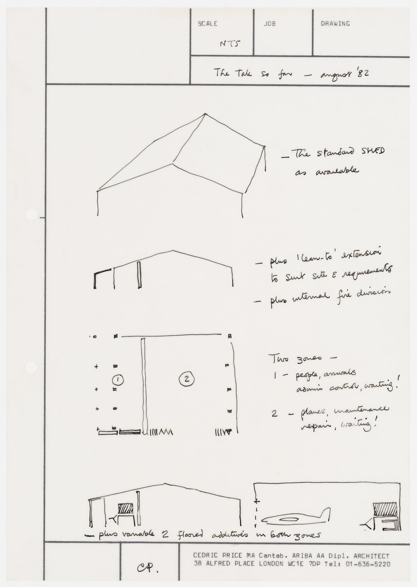 B-Air: conceptual sketches and notes