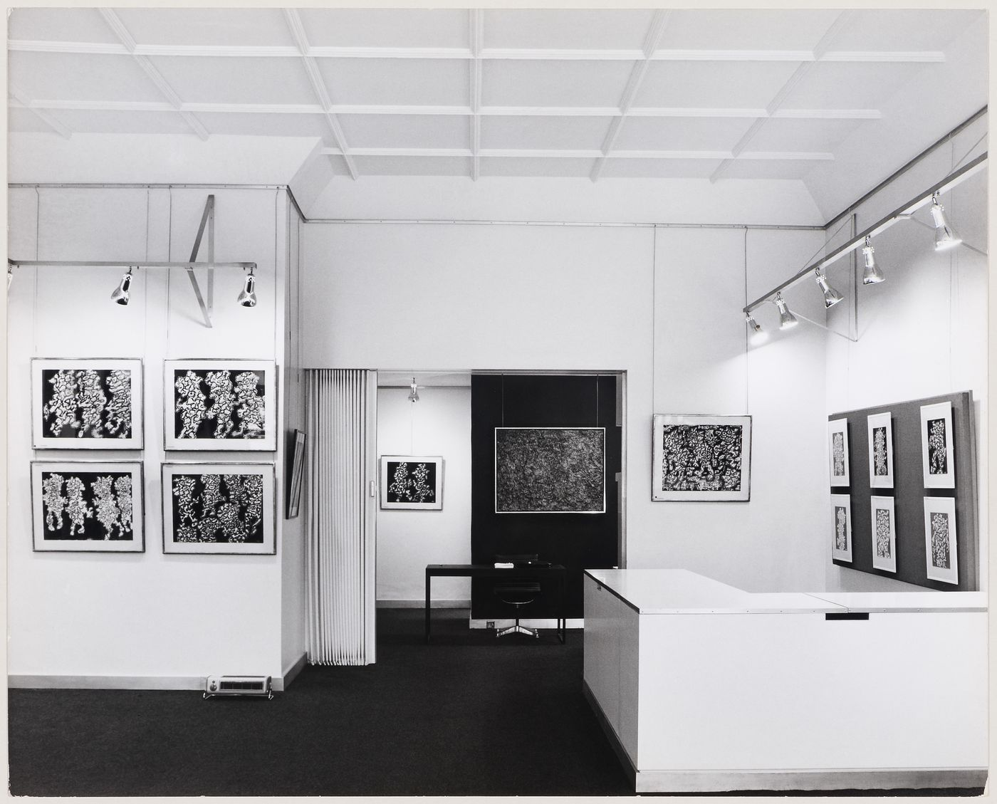 Interior view of Robert Fraser Gallery, London, England
