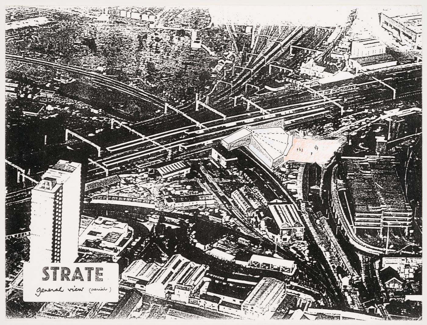 Strate: general view (aerial)