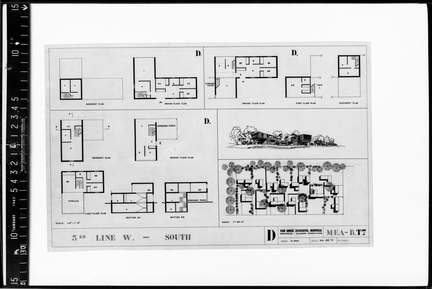 Plans for Meadowvale, Mississauga, Ontario, Canada