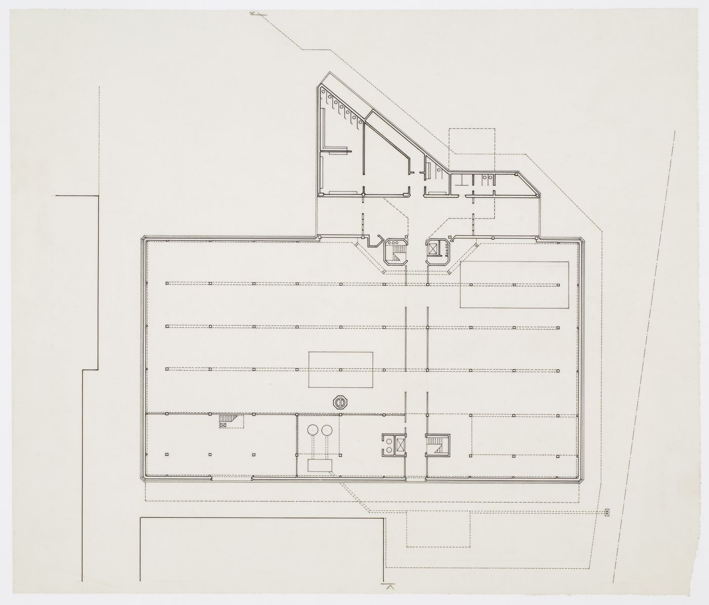 Leicester University Engineering Building, Leicester, England: plan