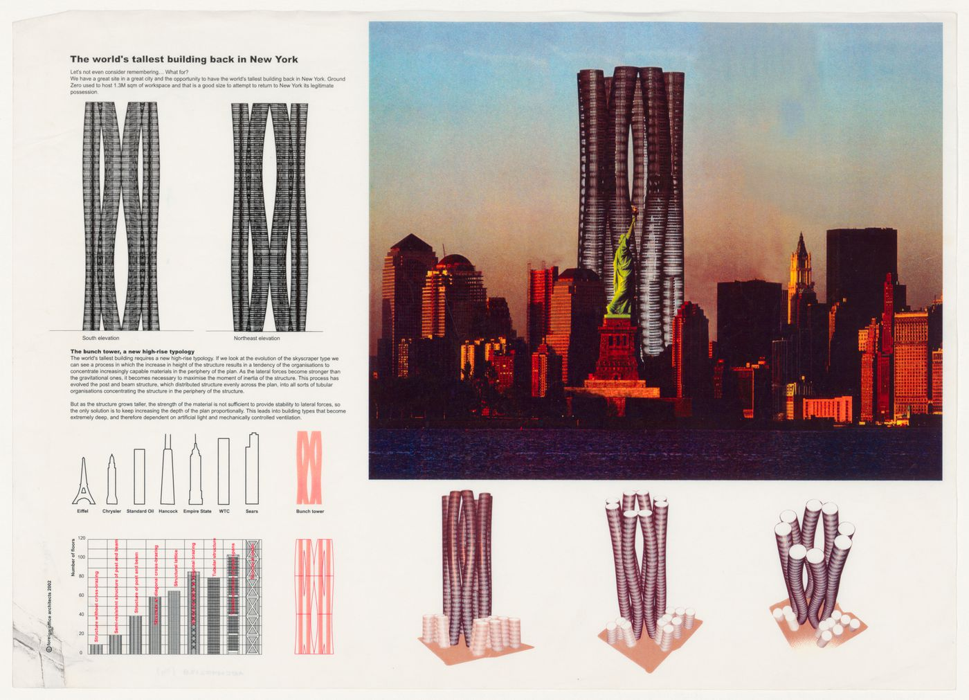 Project proposal for World Trade Center, Ground Zero, New York City, New York