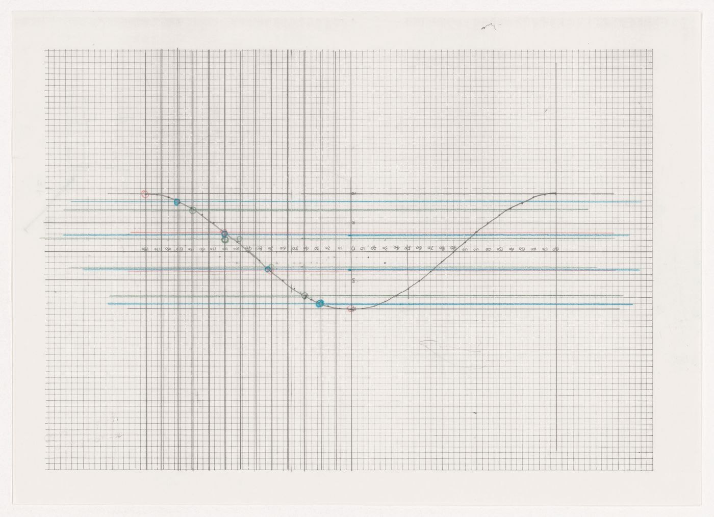 "Line graph from the project file ""Galaxy Toyama Gymnasium, Imizu, Japan""; Sketch"
