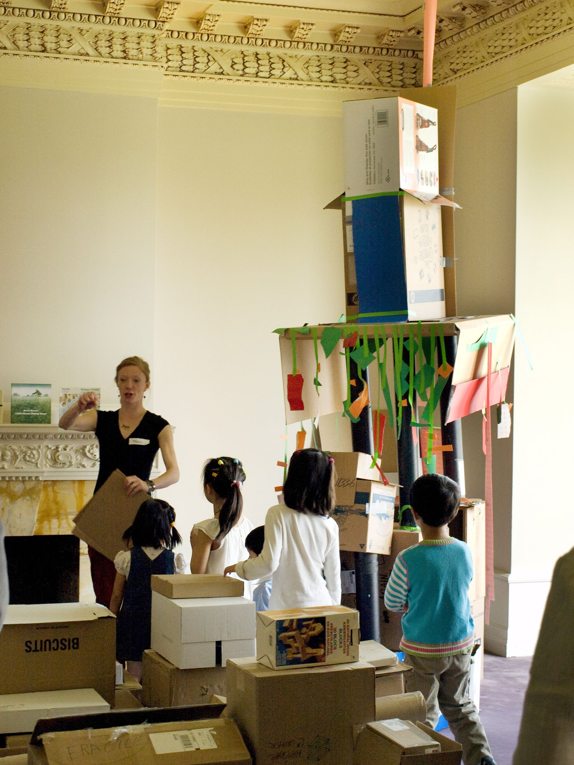 Cardboard Houses: Exploration of Do-It-Yourself