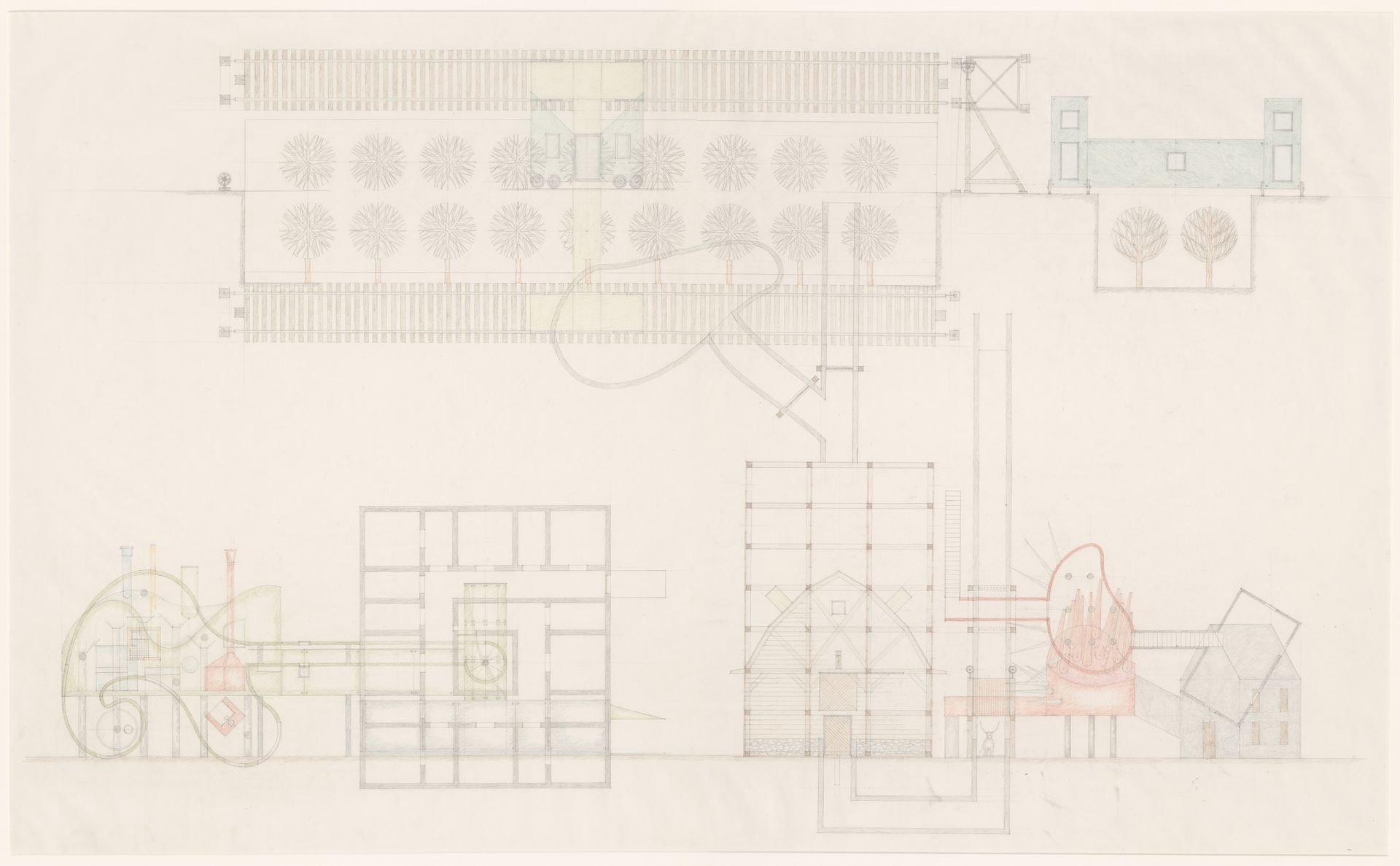 The Lancaster Hanover Masque Hospital Wiring Circuit Diagram Animal Cross Over House And Collectors 1980 1982 Cca Dr19880291047