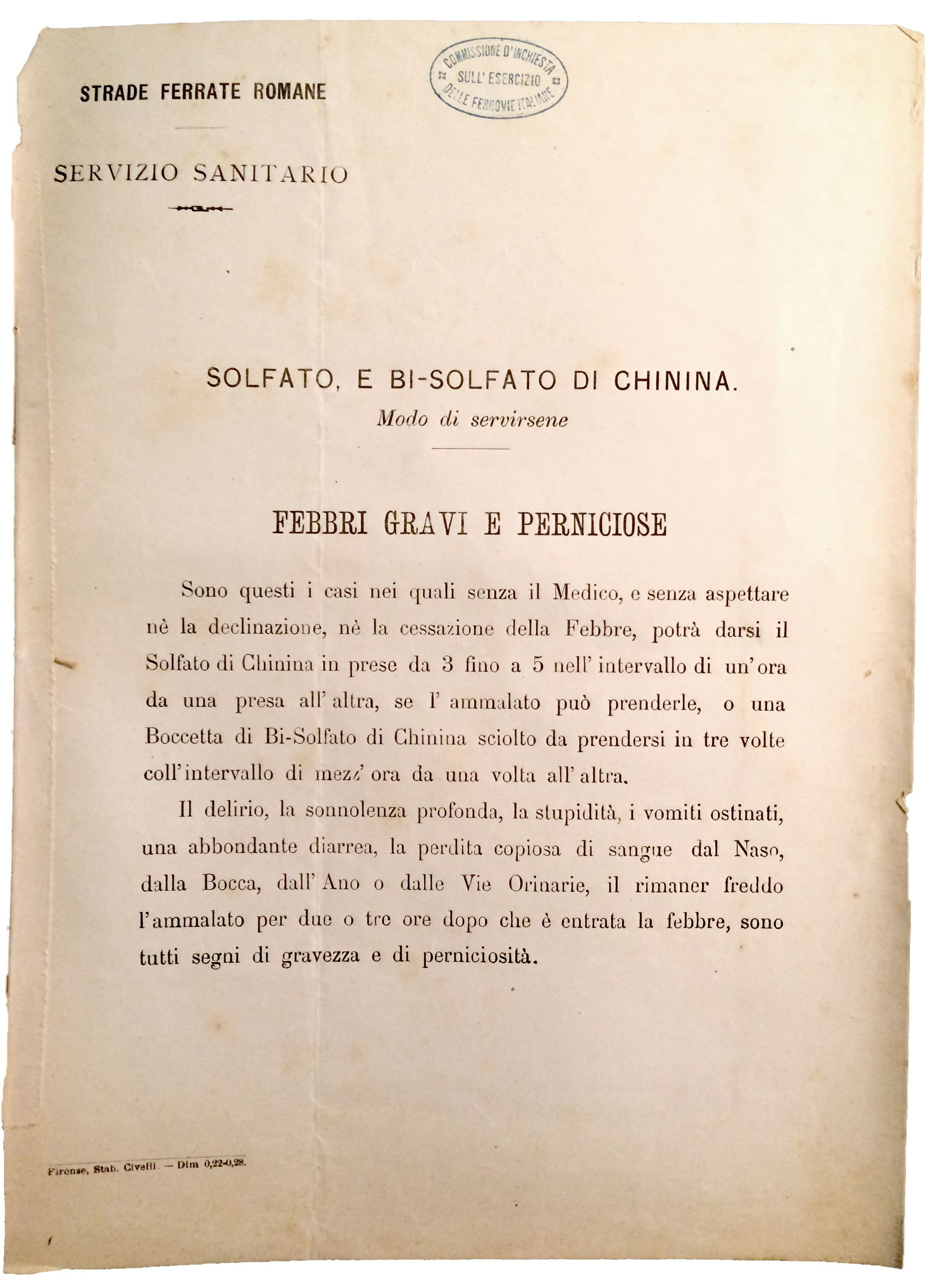 Mapping Malaria in Italy