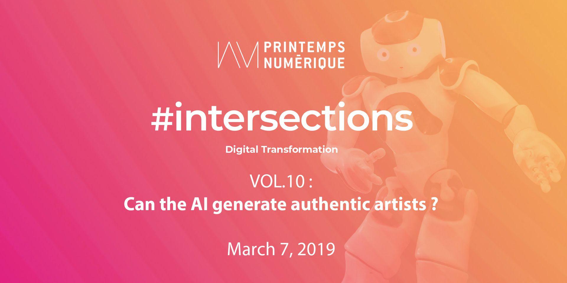 Printemps numérique @CCA Can AI generate authentic artists?